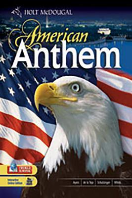 American Anthem Modern American History Teacher S Edition By