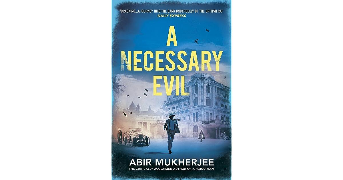 A Necessary Evil Sam Wyndham 2 By Abir Mukherjee