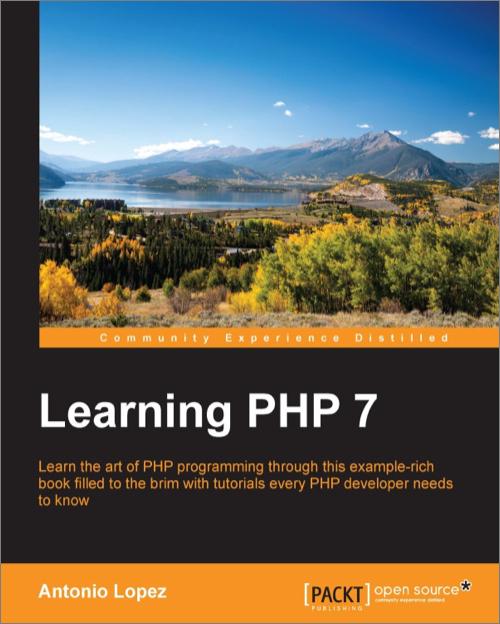 Learning PHP 7 - Antonio Lopez