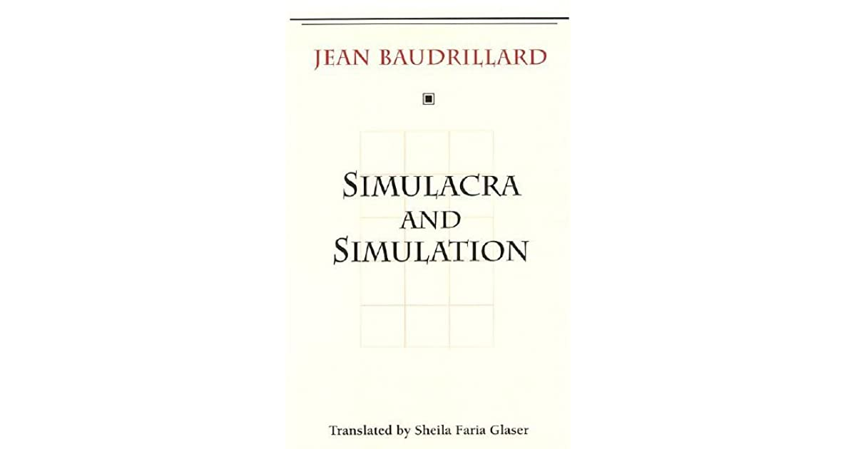 Baudrillard Simulacra And Simulation Pdf