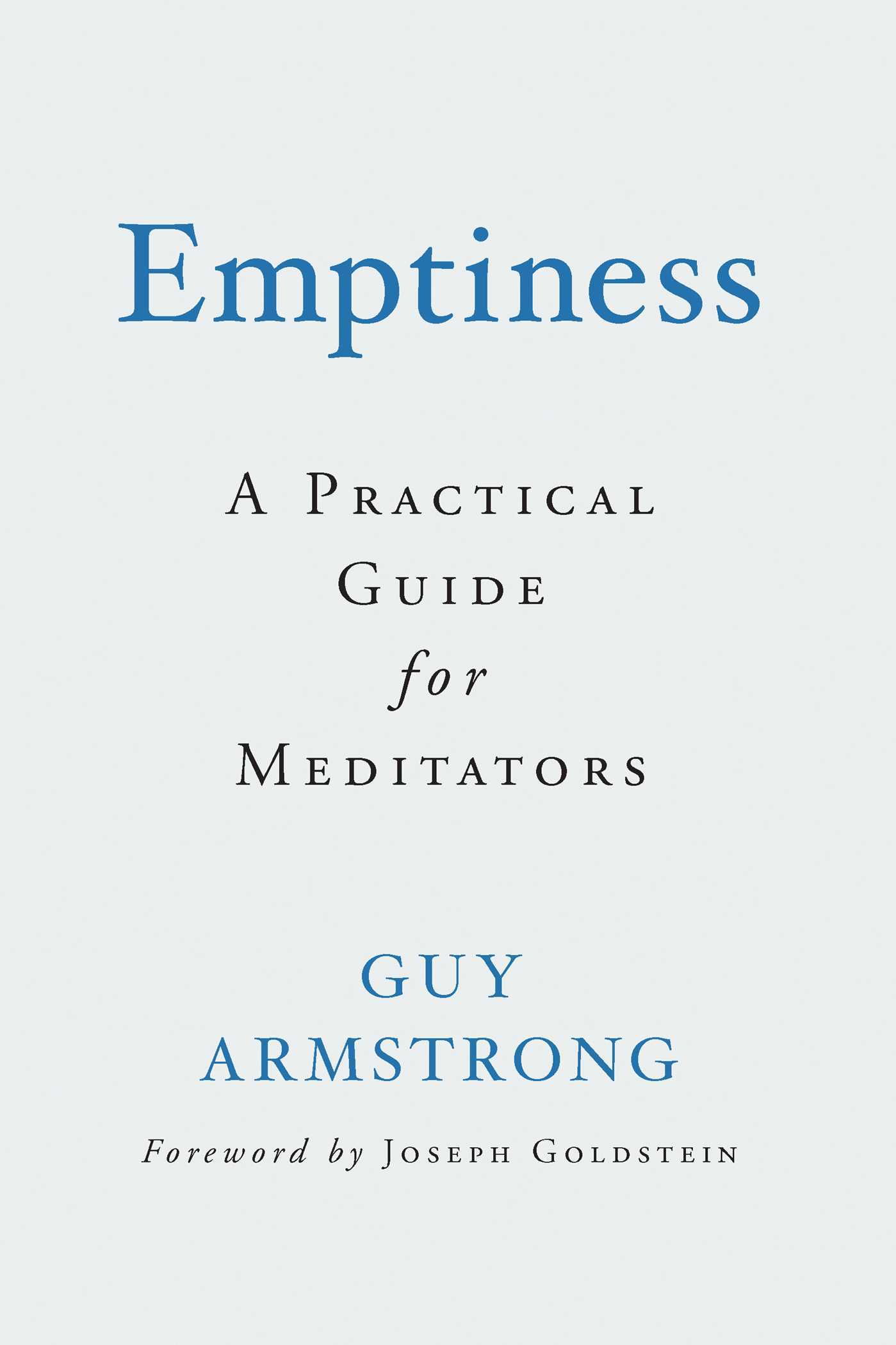 Emptiness A Practical Guide for Meditators