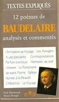 12 poèmes de Baudelaire