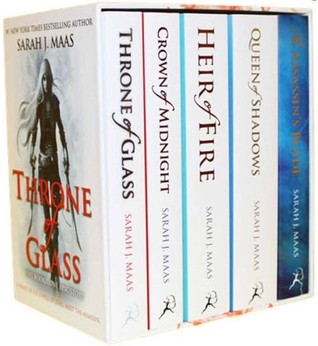 Throne of Glass Boxset (Throne of Glass #0.5-5)