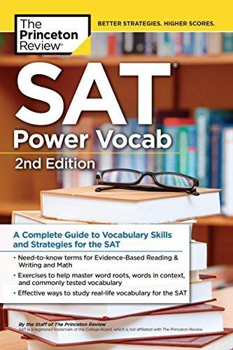 SAT Power Vocab A Complete Guide to Vocabulary Ski