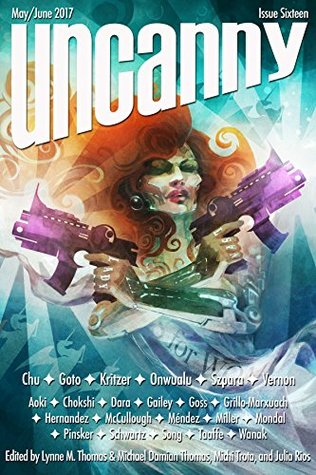 Uncanny Magazine Issue 16 by Lynne M. Thomas