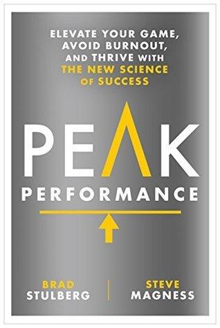 Peak Performance by Brad Stulberg