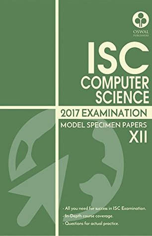 ISC MSP Computer Science by Panel of Authors