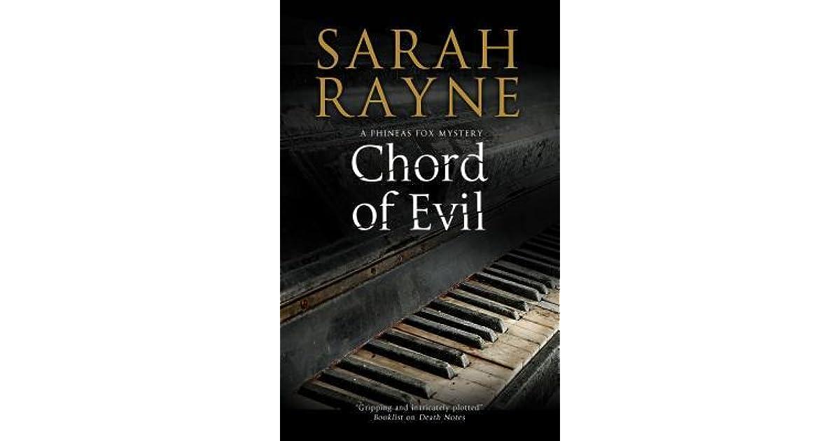 Chord Of Evil Phineas Fox 2 By Sarah Rayne