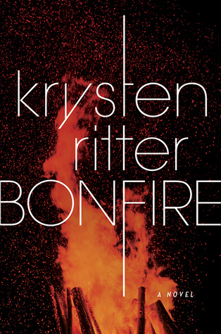 "Book cover of ""Bonfire"" by Krysten Ritter"