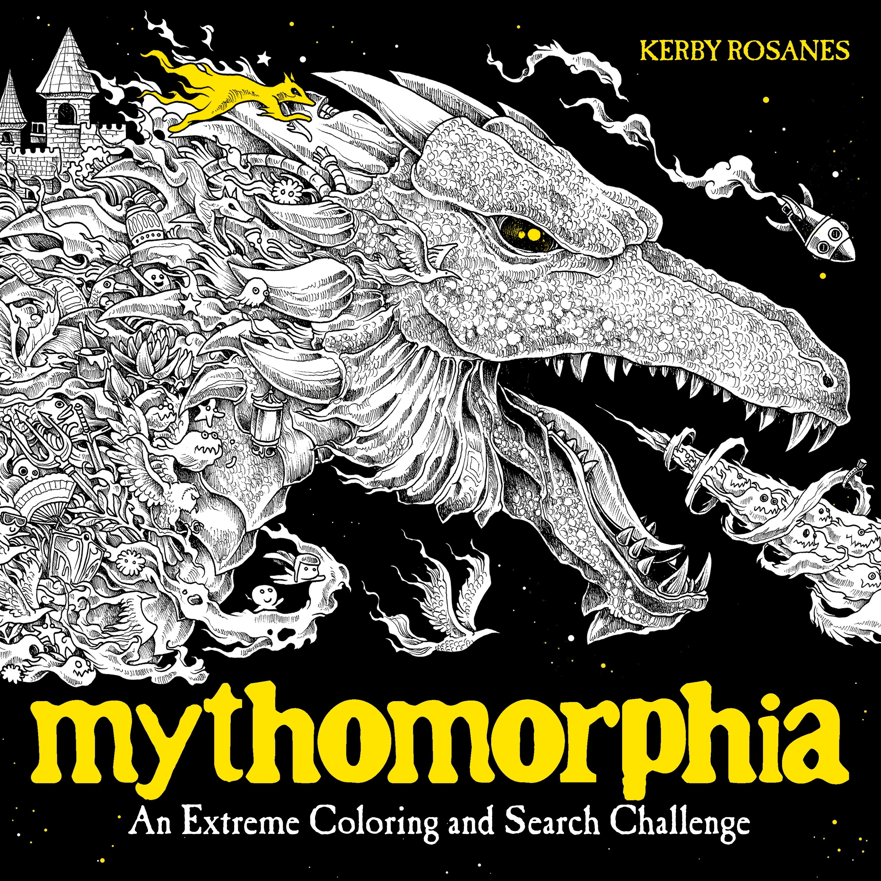 Mythomorphia an extreme coloring and search challenge by kerby rosanes