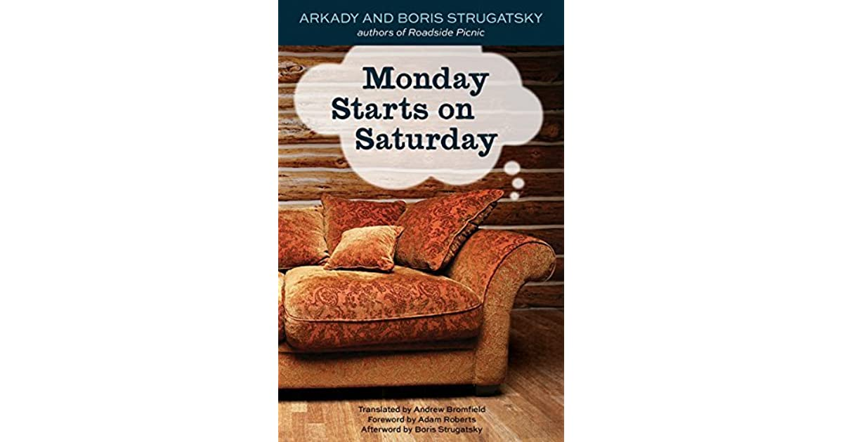 Monday starts on saturday pdf free. download full