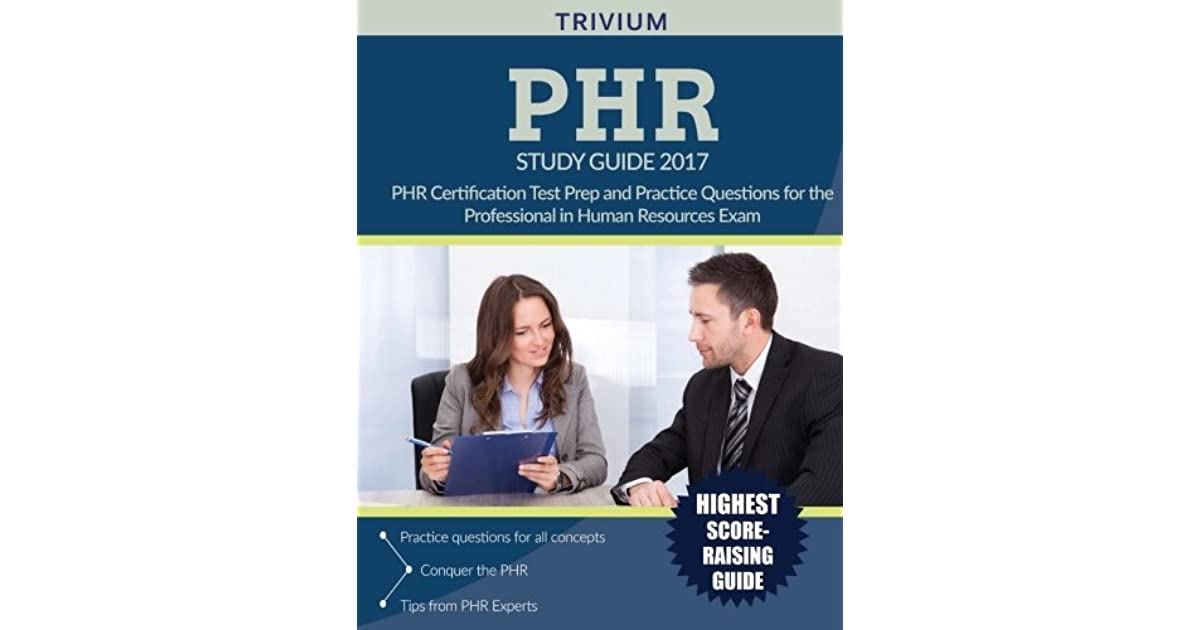 Phrr Study Guide 2017 Phrr Certification Test Prep And Practice