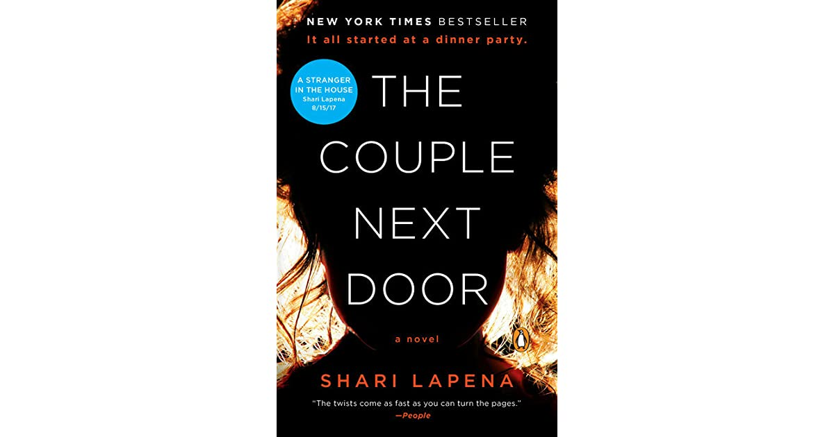 Book Giveaway For The Couple Next Door By Shari Lapena May