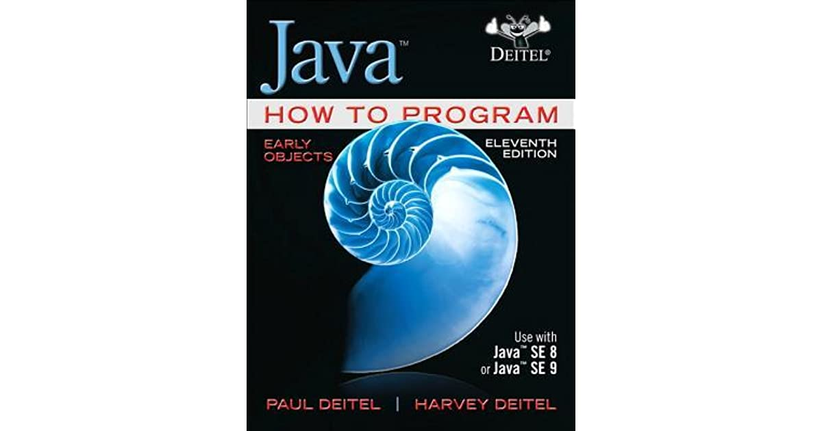 java how to program early objects 11th edition ebook