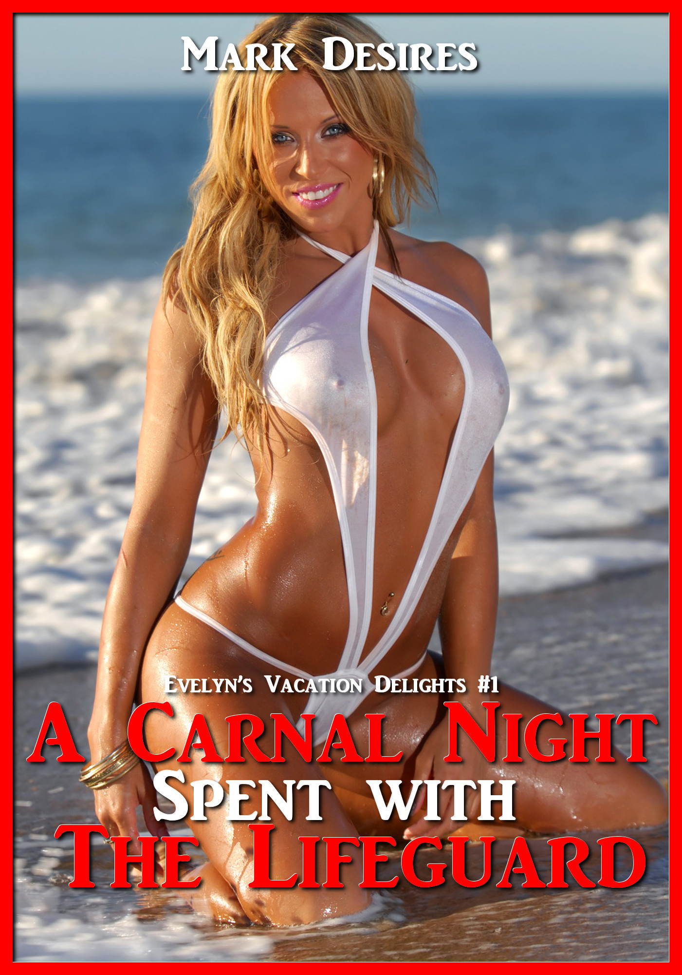 A Carnal Night Spent with the Lifeguard Mark Desires