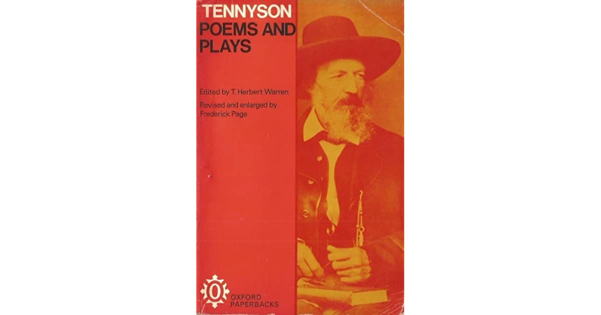 Poems And Plays By Alfred Tennyson