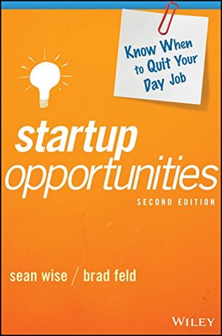 Startup Opportunities by Sean Wise