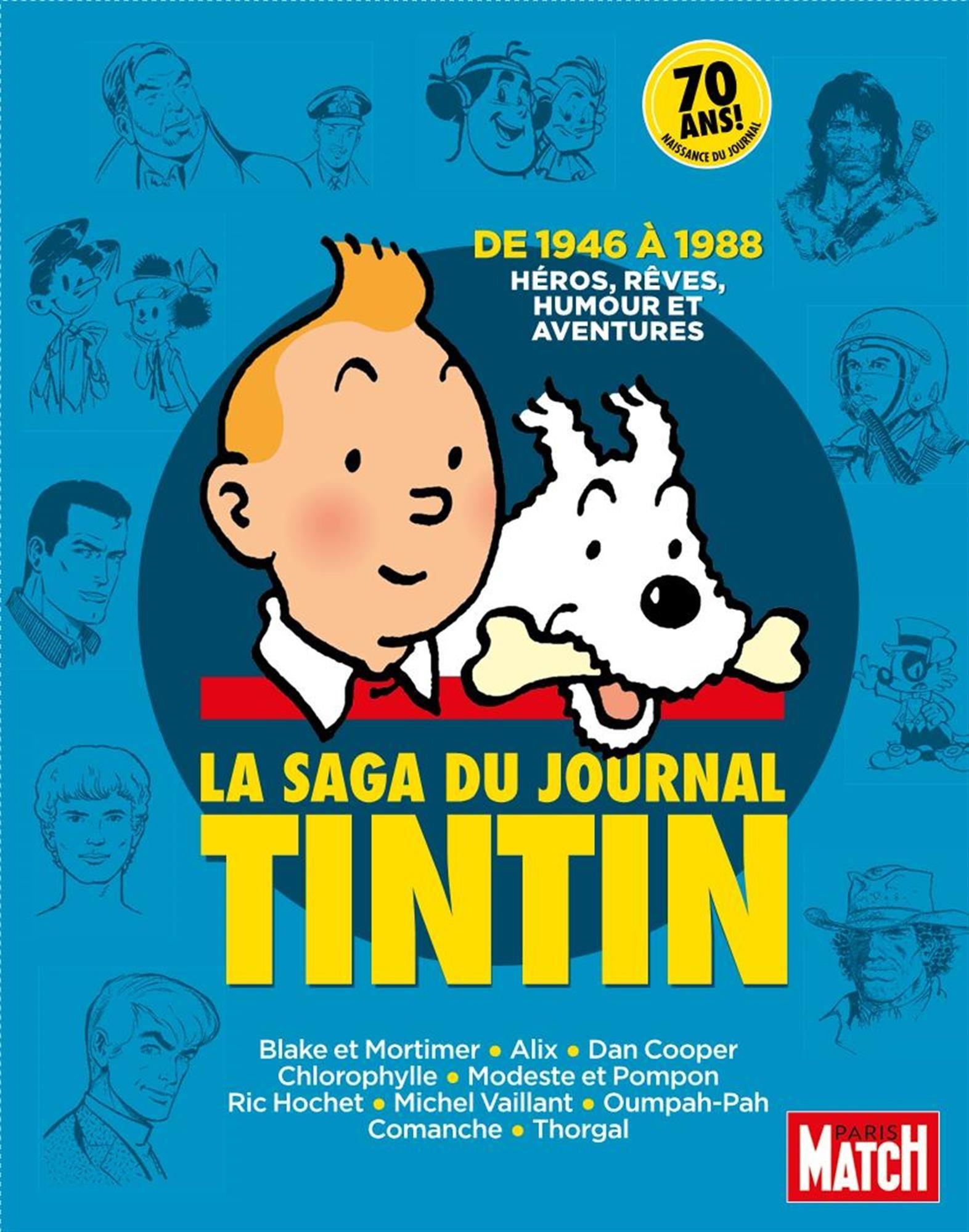 La Saga du Journal Tintin  by  Claude Aziza