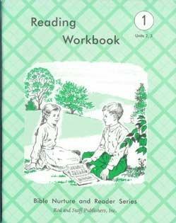 Reading Workbook grade 1 Units 2&3