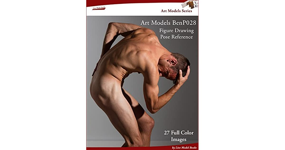 Art Models Benp028 Figure Drawing Pose Reference By Douglas Johnson