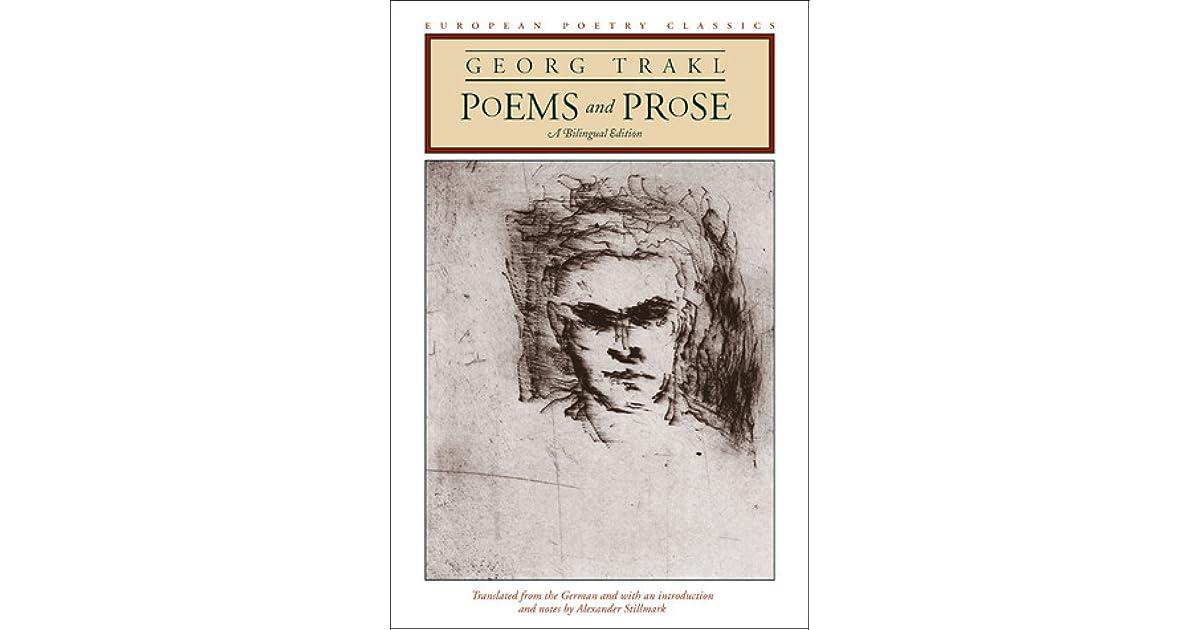 Georg trakl goodreads giveaways