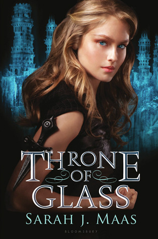"Book cover of ""Throne of Glass"" by Sarah J. Maas"