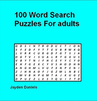 100 Word Search puzzles for adults Jayden Daniels