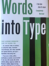 Words Into Type, 3rd Edition