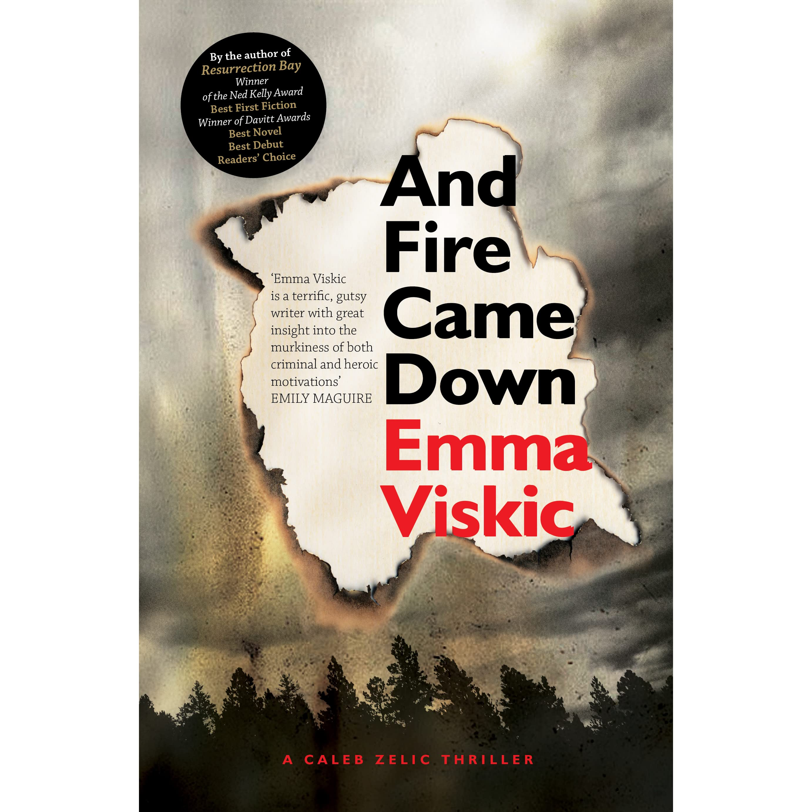 And Fire Came Down (Caleb Zelic, #2) by Emma Viskic