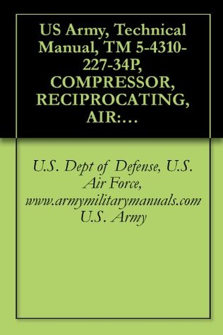 US Army, Technical Manual, TM 5-4310-227-34P, COMPRESSOR, RECIPROCATING, AIR: GASOLINE ENGINE DRIVEN, 15 CFM, RECEIVER MTD, (CHAMPION PNEUMATIC MODEL OEG-458-ENG-1), ... (CHAMPION PNEUMAT MODEL BMW-452-ENG-1