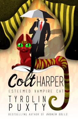 Esteemed Vampire Cat by Tyrolin Puxty