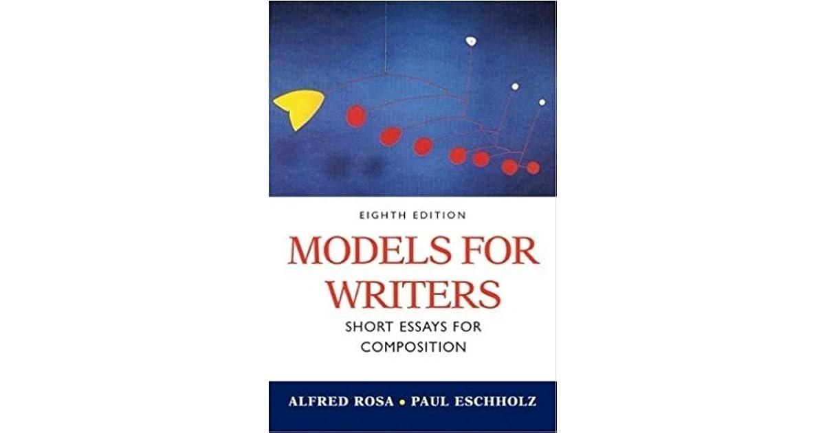 Models writers short essays composition
