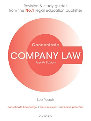 Company Law Concentrate  Law Revision and Study Guide
