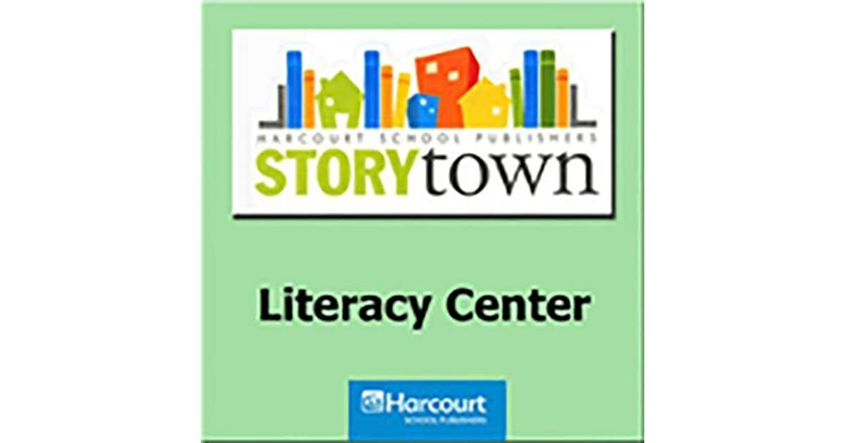 Harcourt School Publishers Storytown Literacy Center Kit