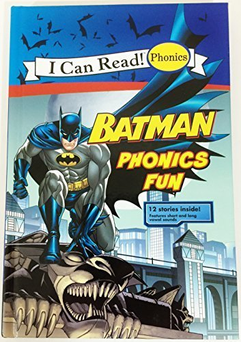 I Can Read! BATMAN PHONICS FUN 12 Story Book DC Super Hero Stories