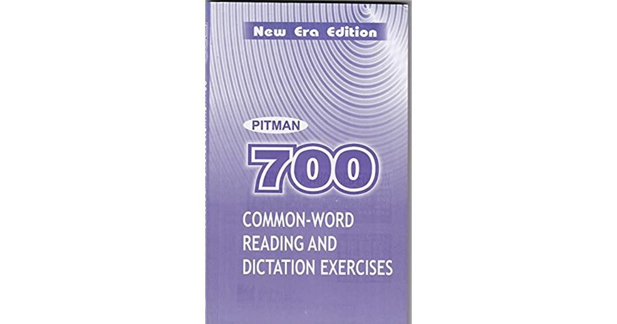 700 Common Words Shorthand Book