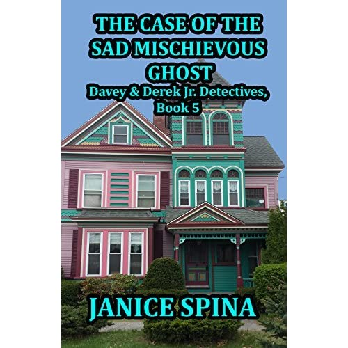 Victoria Zigler's review of The Case of the Sad Mischievous Ghost