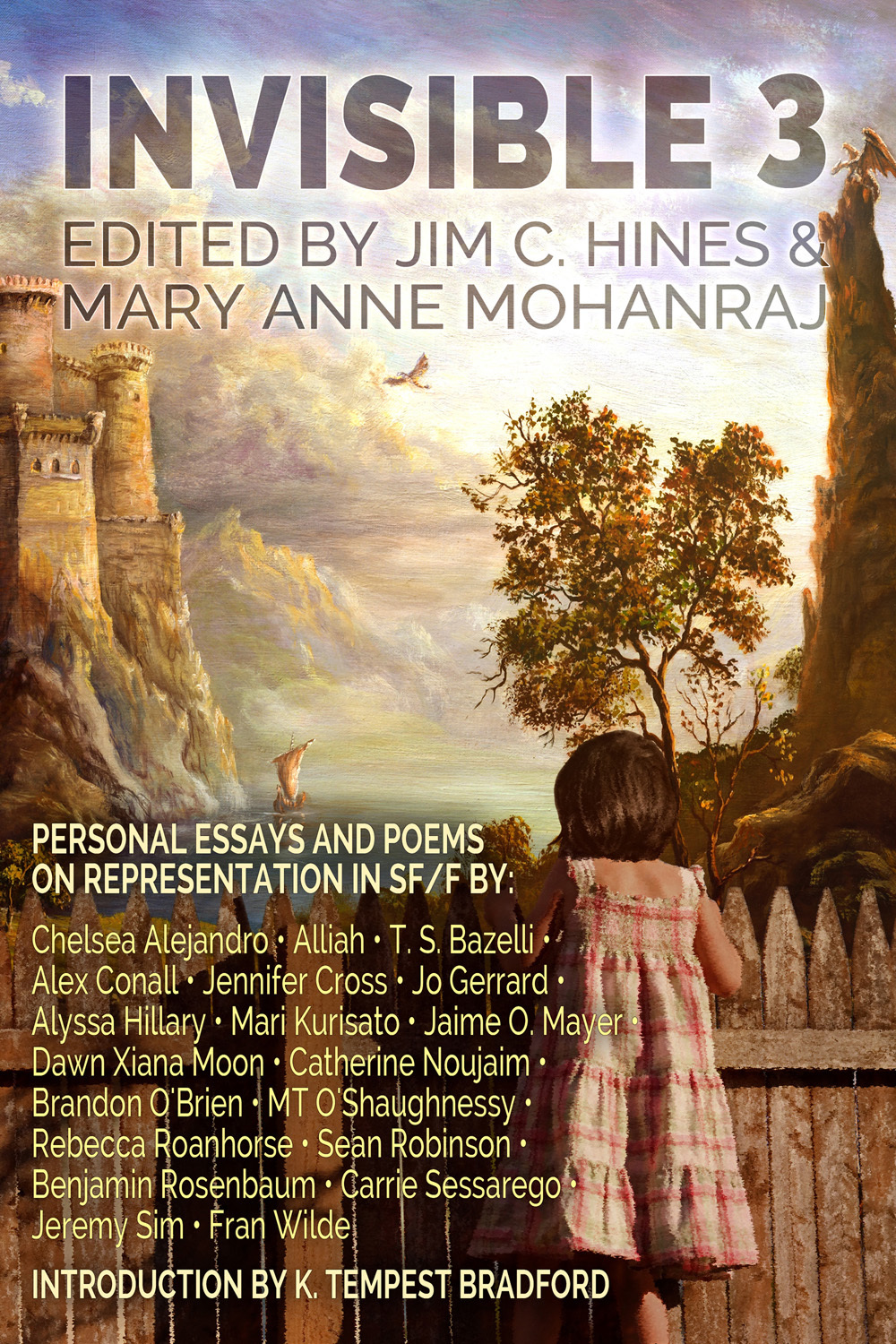 Invisible 3: Personal Essays And Poems on Representation in SF/F