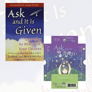 Esther and Jerry Hicks Collection Ask And It Is Given 2 Books Set (Ask and it is Given, Ask And It Is Given Cards)