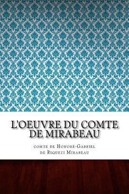 L'oeuvre du comte de Mirabeau