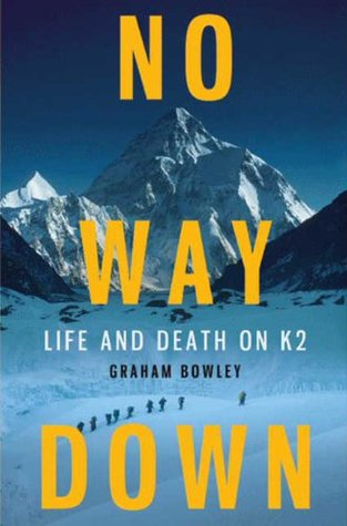 No Way Down: Life and on K2 by Graham Bowley Map Of K Accident on