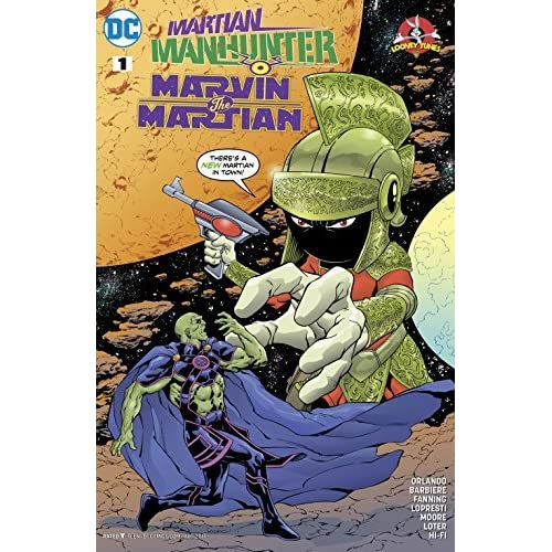 Martian Manhunter/Marvin the Martian Special #1 by Steve Orlando
