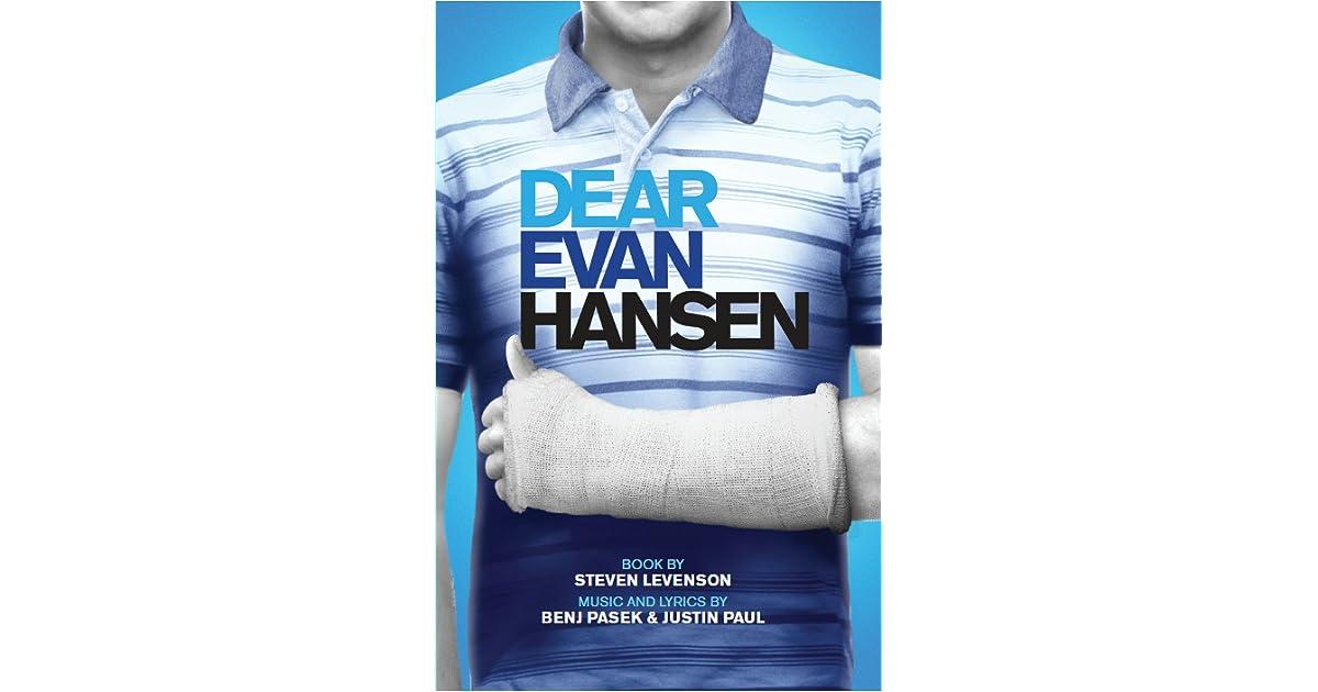 14ad0ce3c0c Dear Evan Hansen by Steven Levenson