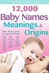 Baby Names: 12,00...
