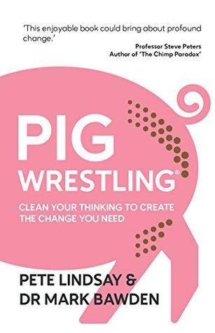 Pig Wrestling by Pete Lindsay