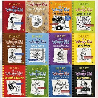 Diary Of A Wimpy Kid Series Collection 12 Books Set By Jeff Kinney Diary Of A Wimpy Kid Rodrick Rules The Last Straw Dog Days The Ugly Truth Cabin Fever The Third Wheel Hard Luck By Jeff Kinney