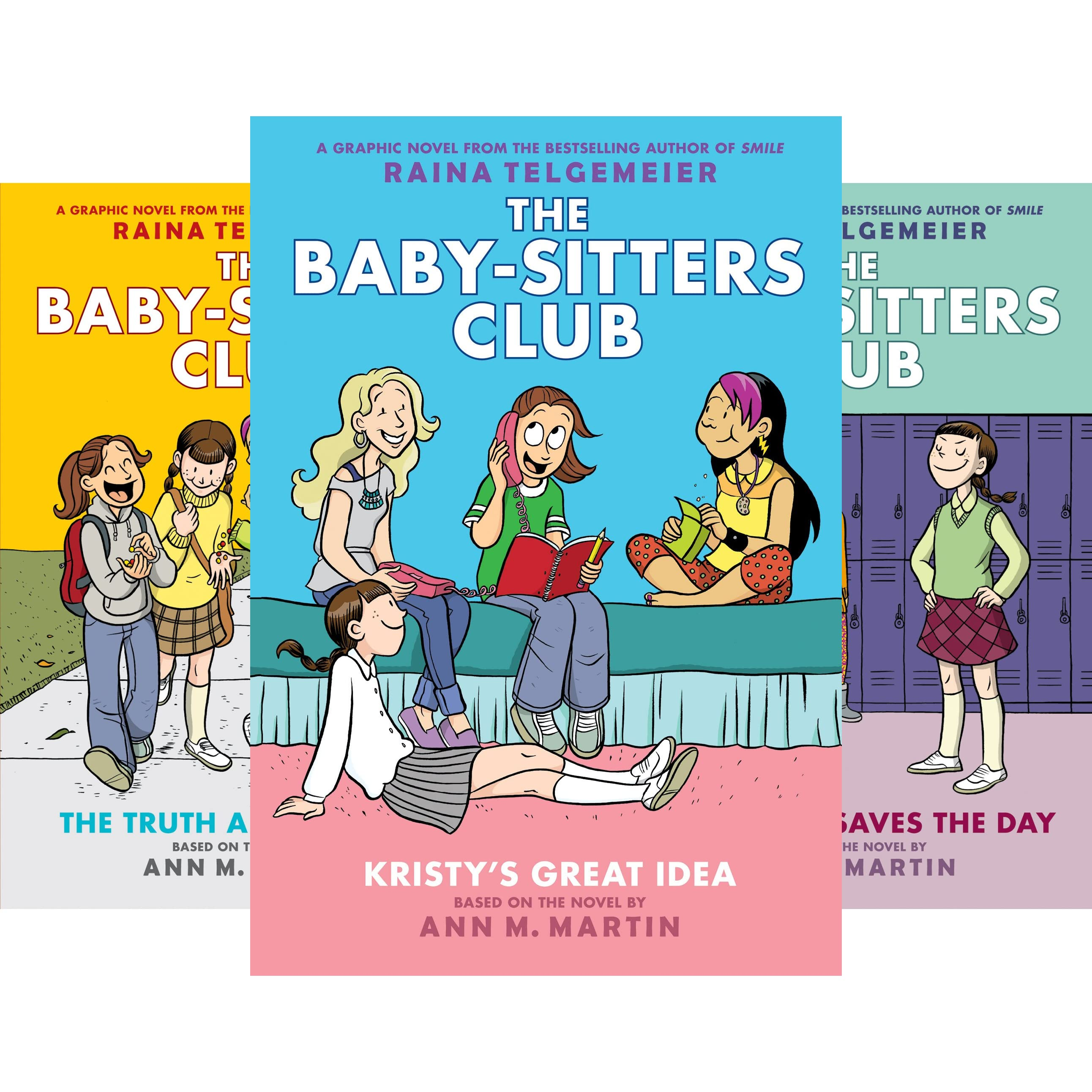 the baby sitters club graphix 1 4 box set full color edition