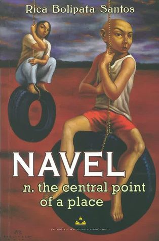 Navel n. the central point of a place