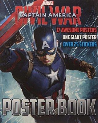 Marvel Captain America Civil War Poster Book