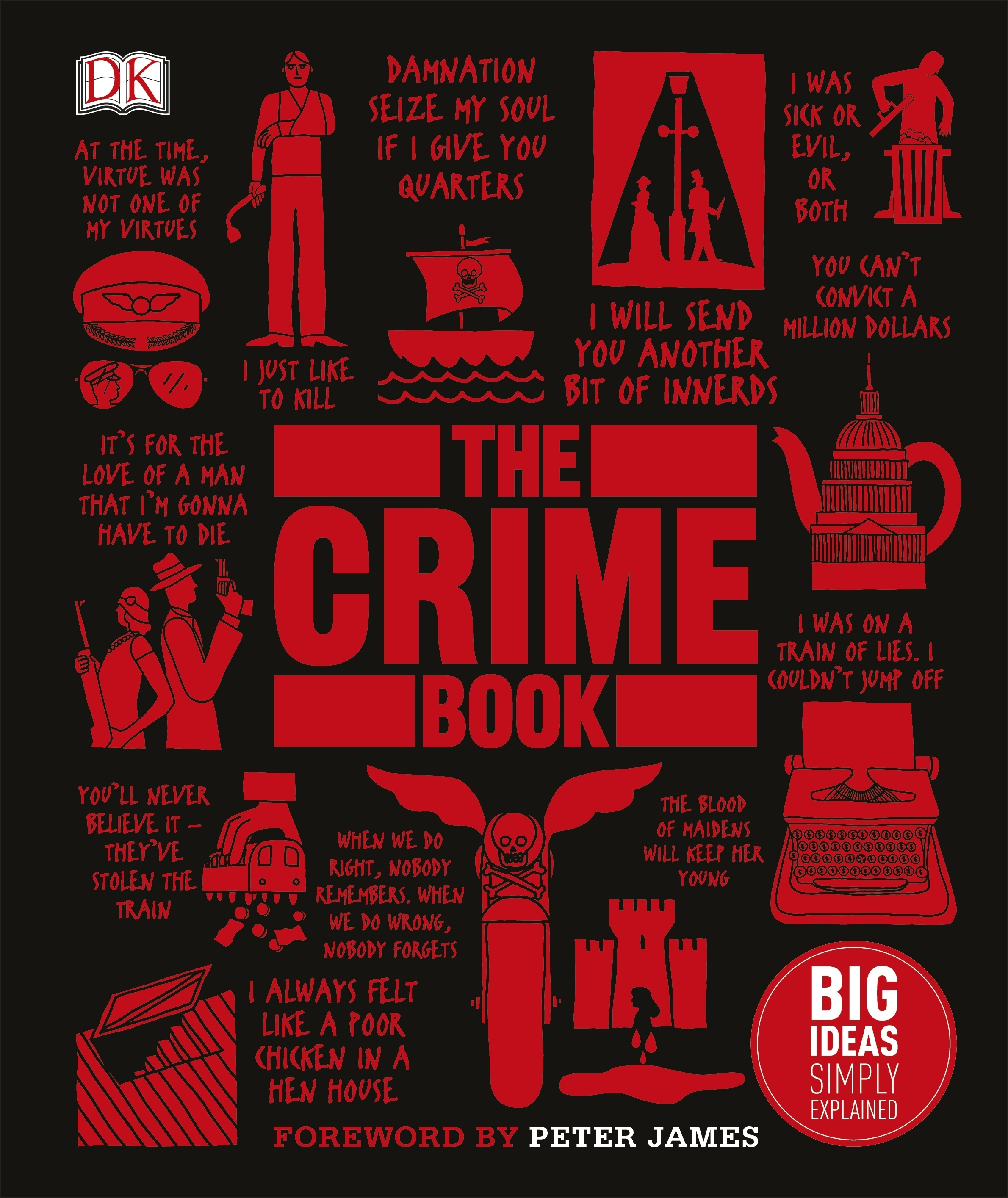The Crime Book- Big Ideas Simply Explained by Cathy Scott